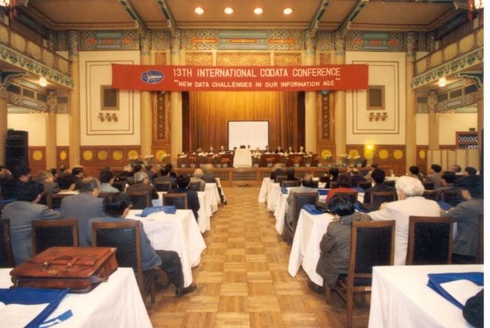 13th International CODATA Conference