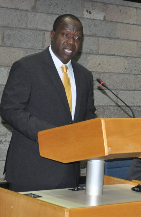 Cabinet Secretary Dr. Fred Matiang'i