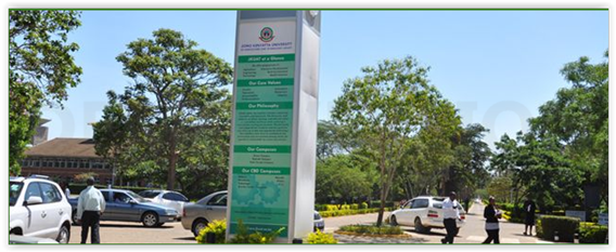Jomo Kenyatta Uinversity of Agriculture and Technology campus - (c) JKUAT