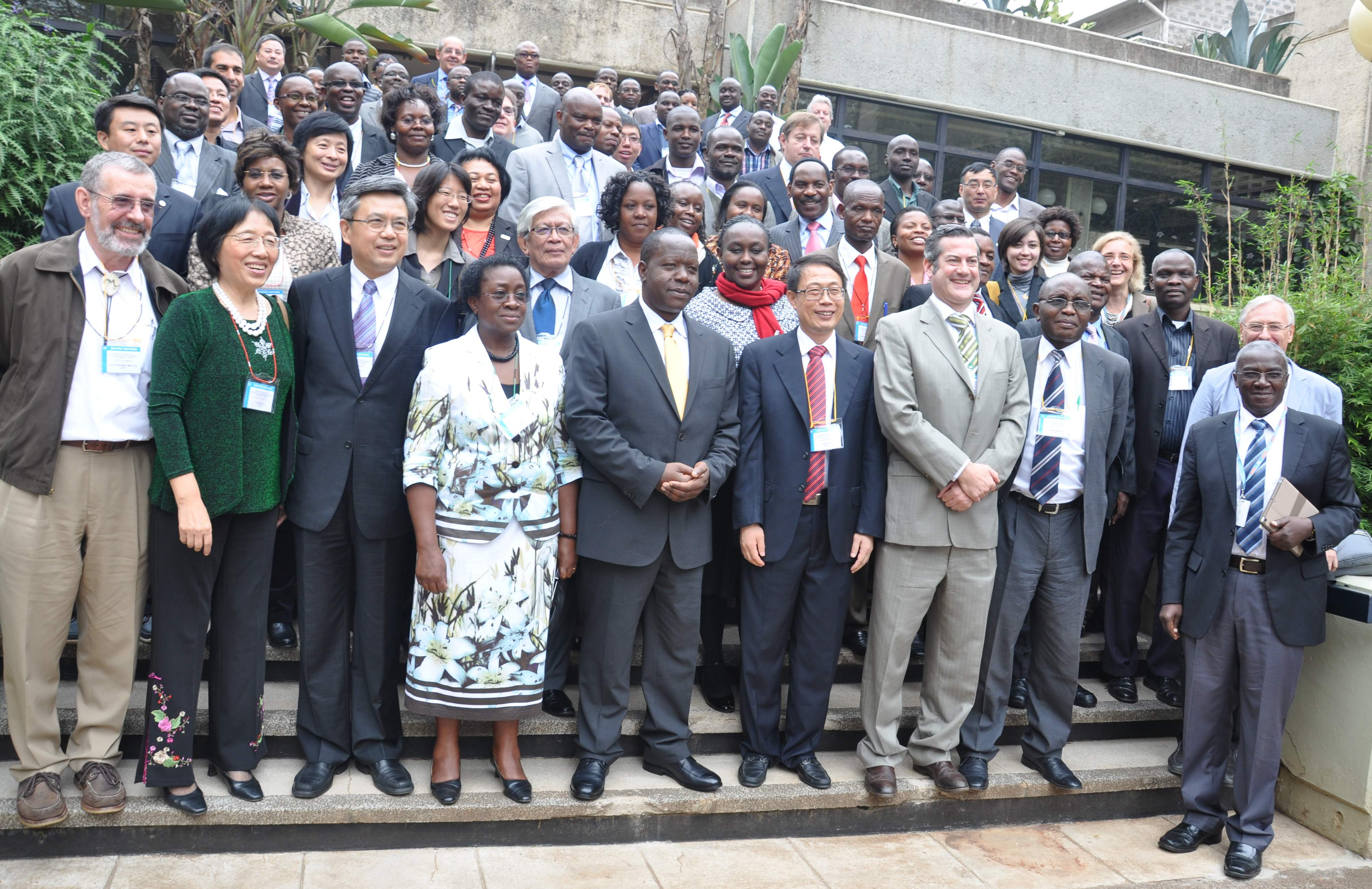 Participants of the Workshop on Open Data for Science and Sustainability in Developing Countries, UNESCO, Nairobi, Kenya, 6-8 August 2014