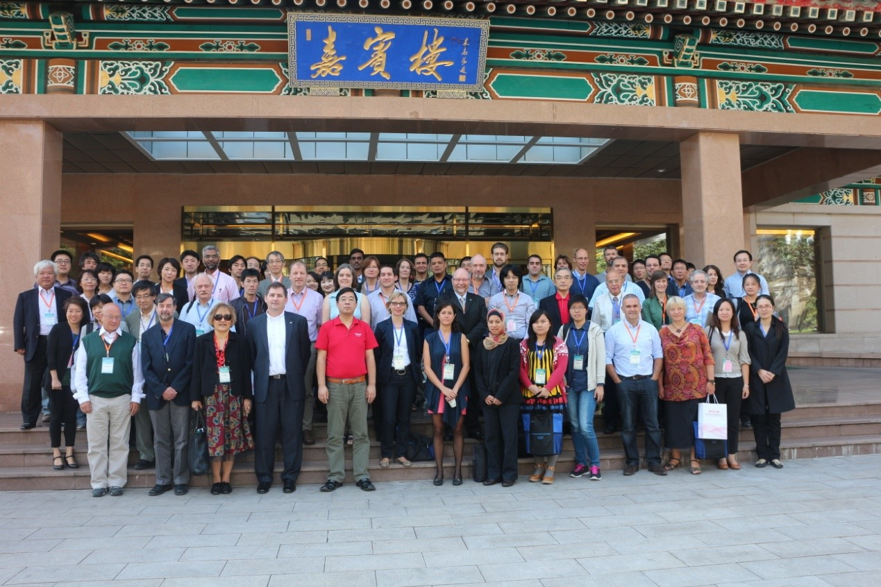 All the participants of the Microbiology workshop in 26th September 2013, Beijing, China.